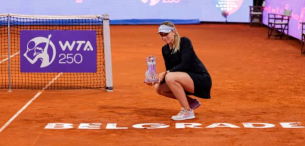 """Badosa: """"Este título es un chute de confianza y motivación para Roland Garros"""""""