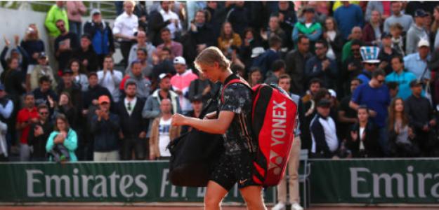 Denis Shapovalov en Roland Garros 2019. Foto: zimbio