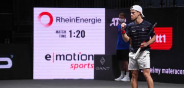 Diego Schwartzman, cerca de ATP Finals 2020. Foto: gettyimages