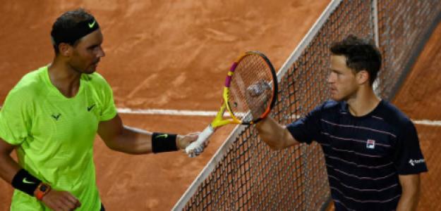 Nadal y Schwartzman protagonizarán uno de los duelos de los cuartos de final. Foto: Getty