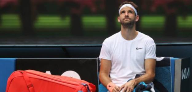 """Grigor Dimitrov: """"Como deportistas, todos tenemos una fecha de caducidad"""". Foto: Getty"""