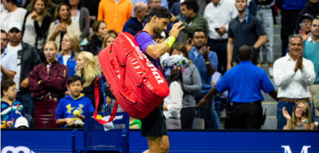 Grigor Dimitrov, eliminado en semis del US Open. Foto: Getty