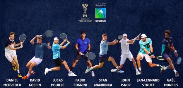 Cuadro de Diriyah Tennis Cup. Foto: gettyimages