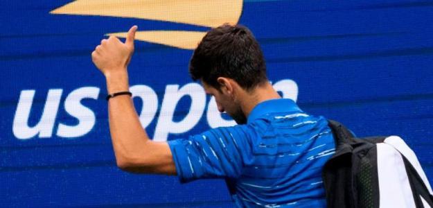 El origen del desprecio de la grada del US Open a Novak Djokovic. Foto: Getty
