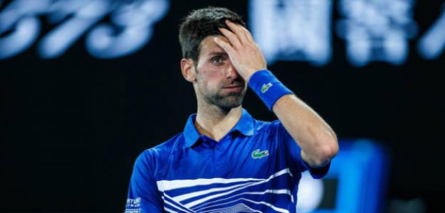 Novak Djokovic ya está en semifinales del Open de Australia. Foto: Getty