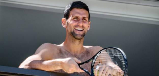 """Djokovic lanza un mensaje a todos: """"Mis buenas intenciones se han malinterpretado"""". Foto: Getty"""