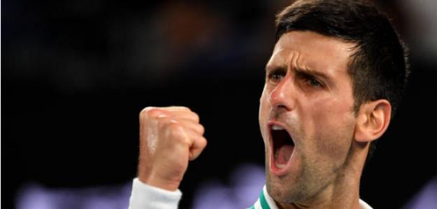 Djokovic, campeón en Australia. Fuente: Getty