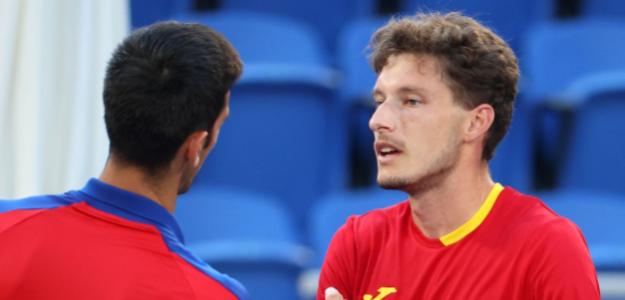 Carreño le ganó a Djokovic el partido por la medalla de bronce. Foto: Getty