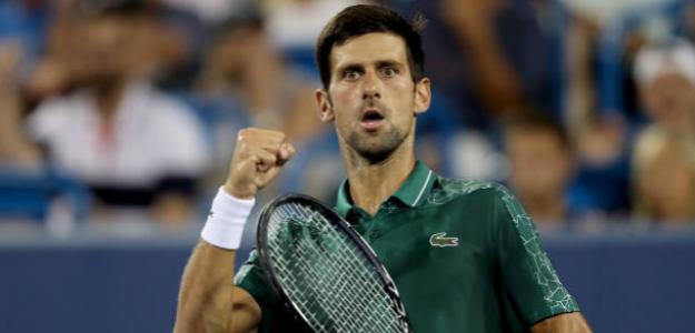 Djokovic cumplió y aprovechó su ventaja. Ya está en QF. Foto: Getty