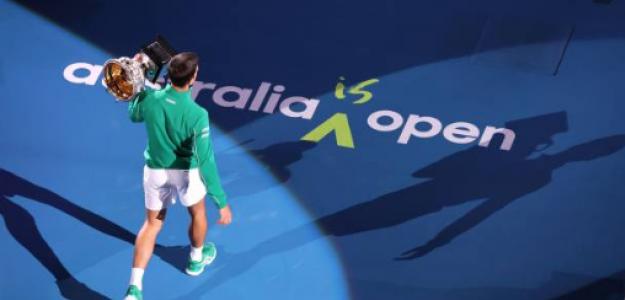 Novak Djokovic, ganador Open Australia 2020. Foto: gettyimages