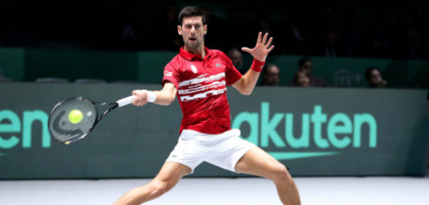 Djokovic ante Nishioka. Foto: Getty