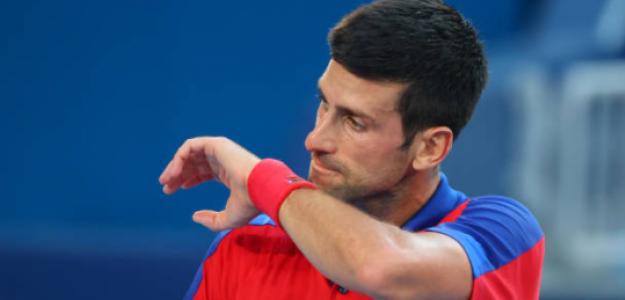 Novak Djokovic. Fuente: Getty