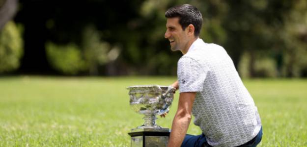 Djokovic como ejemplo para la Next Gen. Foto: Getty