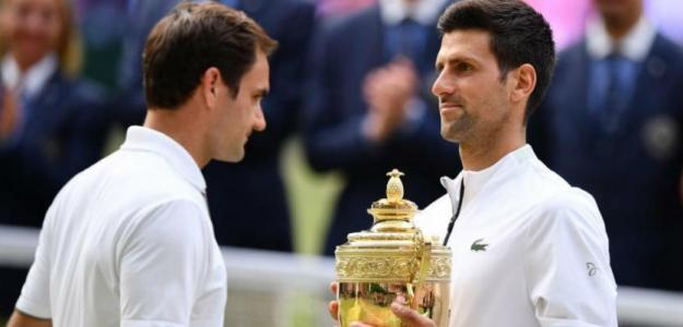 Roger Federer y Novak Djokovic, mejores enfrentamientos. Foto: zimbio