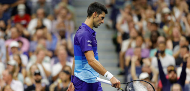 ¿Por qué la grada va siempre contra Novak Djokovic? Foto: Getty