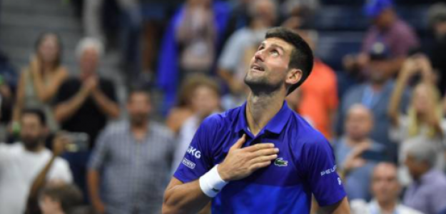 Novak Djokovic, a dos pasos de la gloria. Fuente: Getty