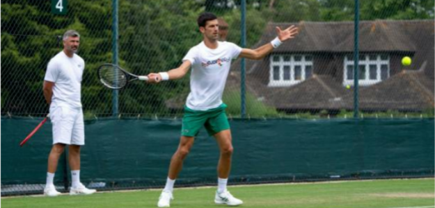 "Ivanisevic: ""Djokovic es el Robin Hood del tenis"". Foto: Getty"