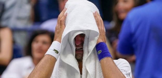 Djokovic, la pared que terminó quebrándose ante el amor del público. Foto: Getty
