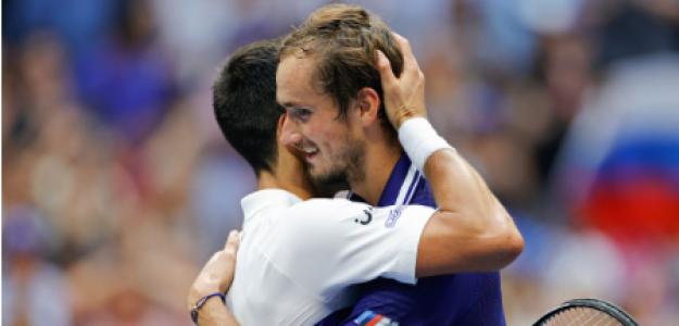Novak Djokovic, amenaza número 1 Daniil Medvedev. Foto: gettyimages