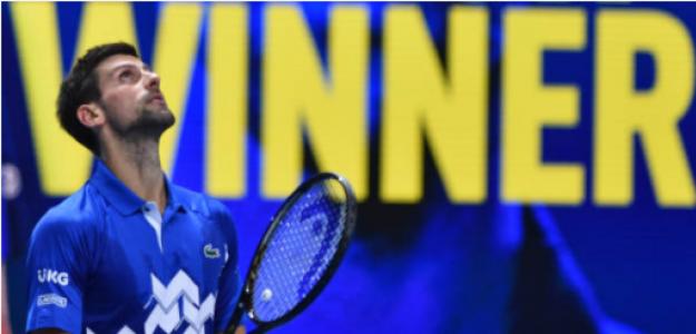 Djokovic celebra su victoria en Londres. Fuente: Getty