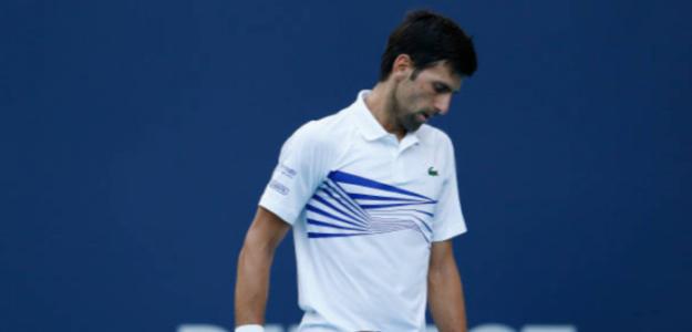 Djokovic en Miami. Foto: Getty