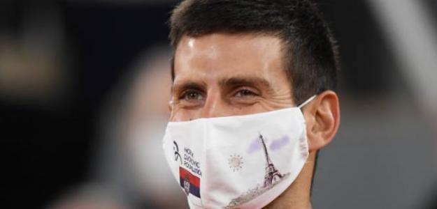 La espléndida respuesta de Djokovic sobre si es tarde para alcanzar a Federer y Nadal. Foto: Getty