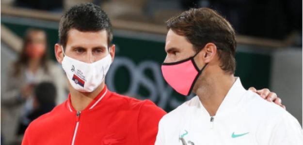 Ranking ATP. Novak Djokovic y Rafael Nadal en la cima. Foto: gettyimages