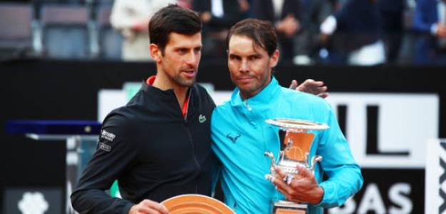 Djokovic y Nadal. Foto: Getty