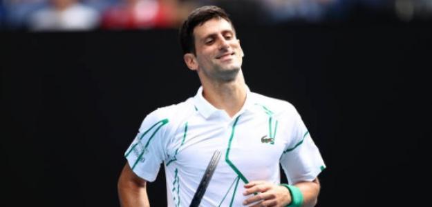 A octavos sin despeinarse lo más mínimo Novak Djokovic. Foto: Getty