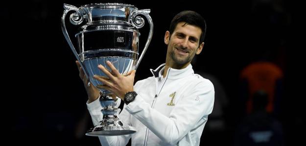 Djokovic, Nº1 del año 2018.