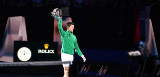 Novak Djokovic, número 1 del mundo después del Open Australia 2020. Foto: gettyimages