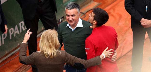 Las palabras del padre de Djokovic no ayudan a su hijo. Foto: Getty