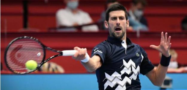 Novak Djokovic, en Viena. Fuente: Getty