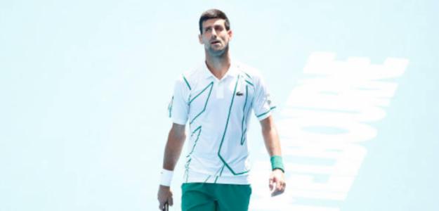 """Novak Djokovic: """"Cada vez me siento con más confianza"""". Foto: Getty"""