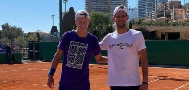 """Holger Rune, antes de enfrentar a Djokovic: """"Tengo mucha fe en mí mismo"""". Foto: IG"""