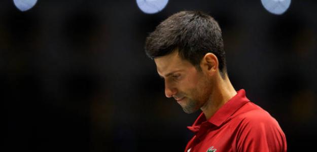 Djokovic clasifica a Serbia como primera de grupo. Foto: Getty