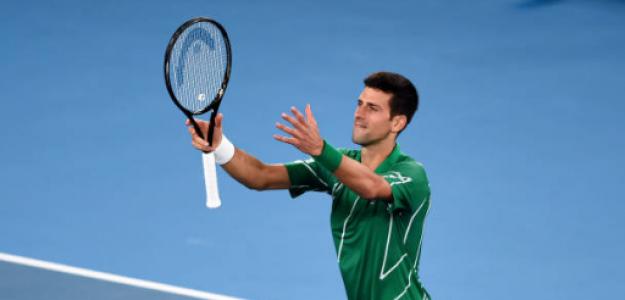 Novak Djokovic, dominio en Grand Slams sobre Roger Federer y Rafael Nadal
