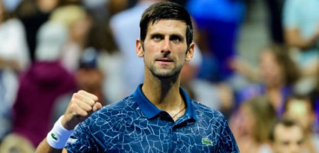 Novak Djokovic ya está en 1/4s del US Open. Foto: Getty