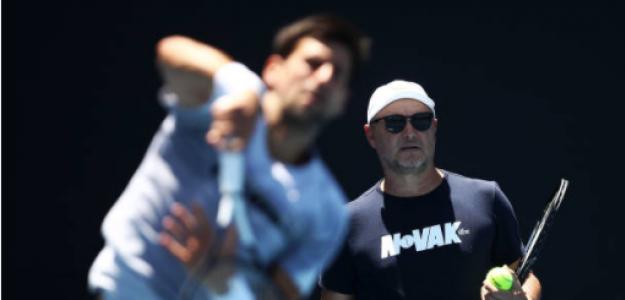 Marian Vajda habla de objetivos de Novak Djokovic. Foto: gettyimages