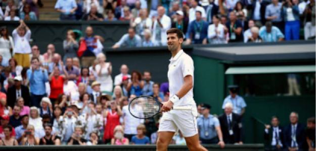 Novak Djokovic gana Wimbledon 2019 a Roger Federer. Foto: gettyimages