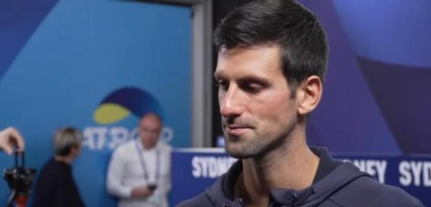 """Djokovic: """"Nos sorprendió mucho no ver a Nadal en la pista"""". Foto: ESPN"""