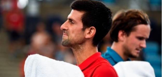 """Djokovic: """"Ha sido uno de los partidos más emocionantes que he jugado en los últimos años"""". Foto: Getty"""