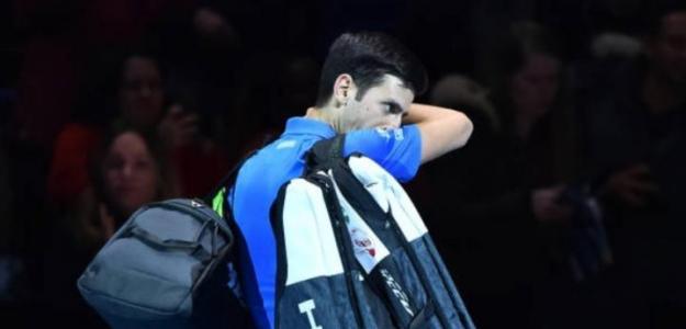 """Djokovic: """"Thiem ha reventado la pelota en cada golpe, me quito el sombrero y le felicito"""". Foto: Getty"""