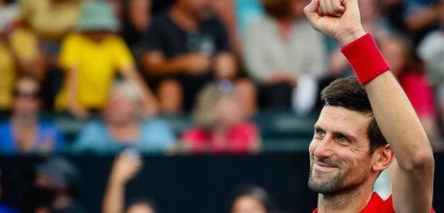 """Djokovic: """"La ATP Cup es una sensación parecida a la de un Mundial"""". Foto: Getty"""