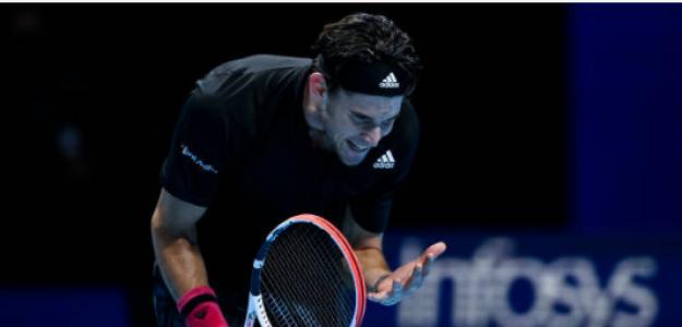 Dominic Thiem, problemas con el balance de finales grandes torneos. Foto: gettyimages