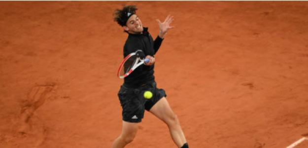 Dominic Thiem habla tras ganar a Gaston en Roland Garros 2020. Foto: gettyimages