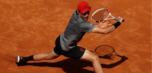 Dominic Thiem, opciones ganar Roland Garros 2021. Foto: gettyimages