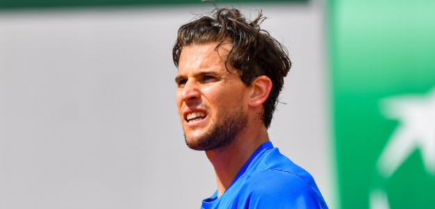Dominic Thiem, bajas expectativas en Roland Garros. Foto: gettyimages