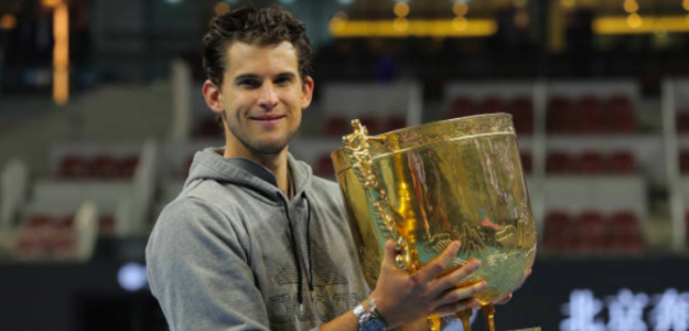 El campeón de Beijing posa con su premio. Fuente: Getty