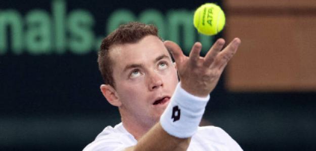 Dominik Koepfer ya es un habitual del circuito ATP. Fuente: Getty